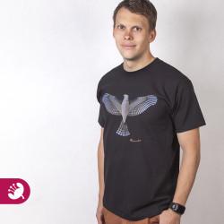 ptak cerny poloprofil logo